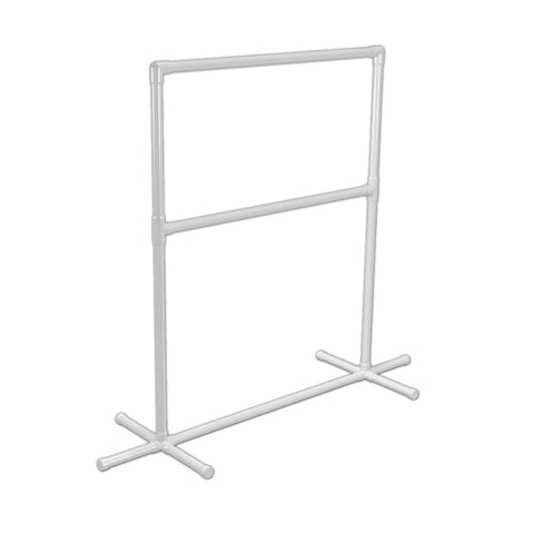 PVC Clothing Rack