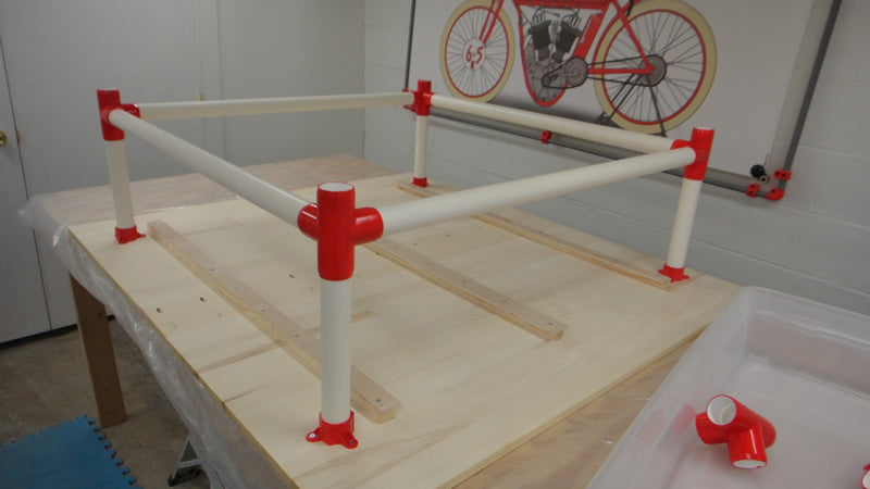 PVC Table Assembly