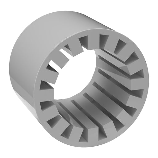 "FORMUFIT Closeout -  PVC Fitting Reducer - Furniture Grade New - 1-1/4"" Fitting to ""3/4"" Pipe Reducer - Gray"