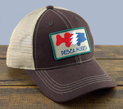 Bass Patch Mesh-Back Trucker Hat