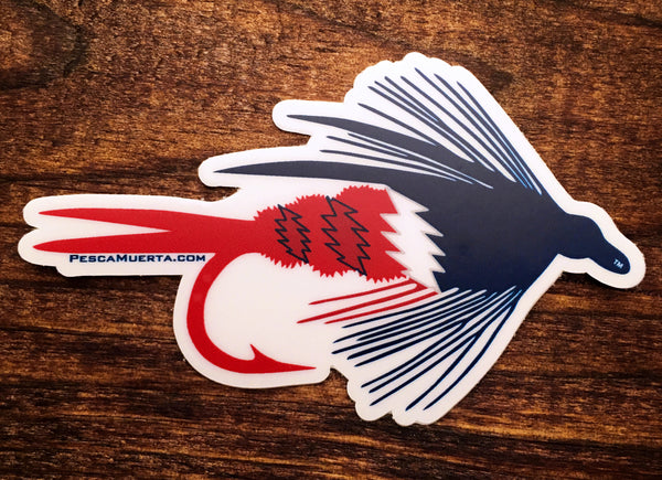 Premium Vinyl RTP Dry Fly Decal