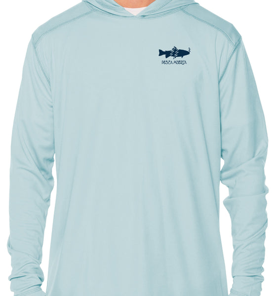 Hooded Long Sleeve Performance Sun Shirt - Trout X Donuts