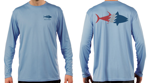 Long Sleeve Performance Sun Shirt - Tuna