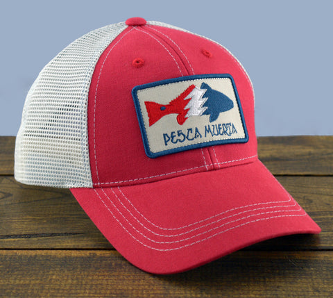 Redfish Patch Mesh-Back Trucker Hat