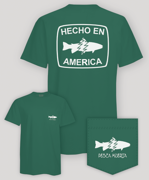 Short Sleeve Pocket T-Shirt - Hecho En America