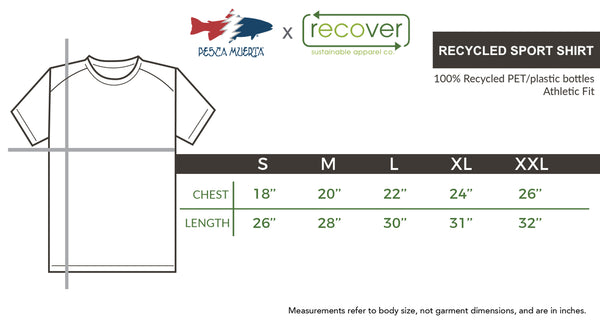 Pesca x Recover Recycled Sport Shirt