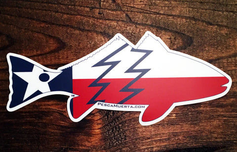 Premium Vinyl Texas Redfish Decal