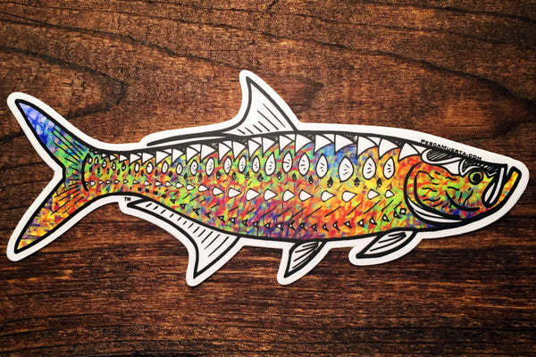 Artist Series Trippy Tarpon Decal