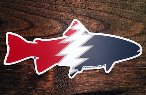 Premium Vinyl Trout Decal