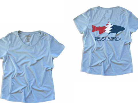 Women's Pesca x Recover Recycled Tee (Logo on Back)