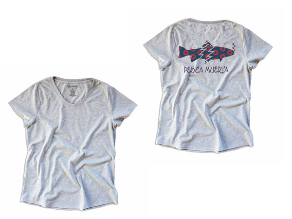 Women's Pesca X Recover Recycled T-Shirt Trout X Donuts