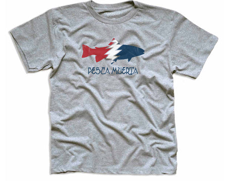 kids pesca x recover recycled tee