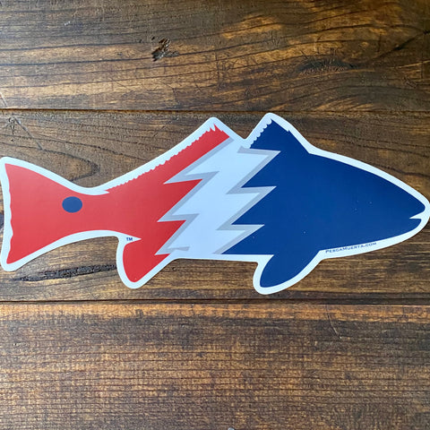 Extra Large Pesca Muerta Redfish Decal