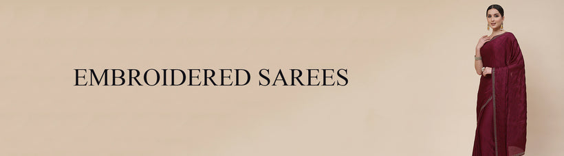 Sarees Embroidered