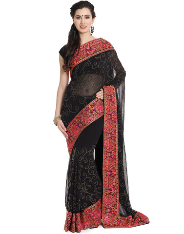 Embellished Georgette Saree
