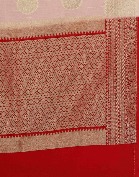 Musterd Art Handloom Silk Saree