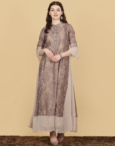 Cotton Chanderi Dress