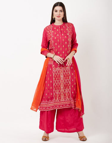 Rani Cotton Salwar Kameez