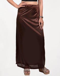 Brown Streachable Peticoat