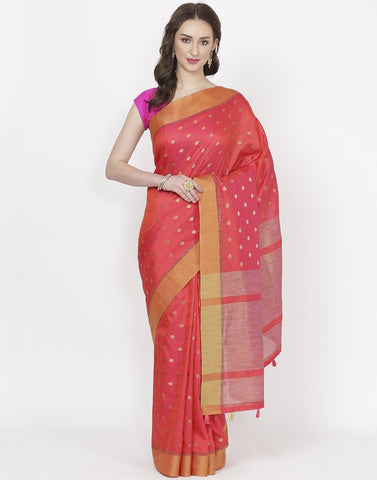 Rani Art Tussar Saree