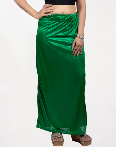 Green Streachable Peticoat