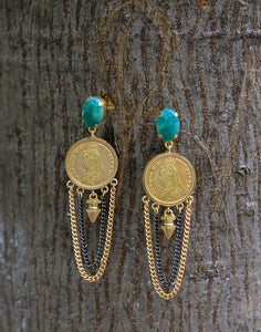 Meena Bazaar: Sovereign Chandelier Earrings