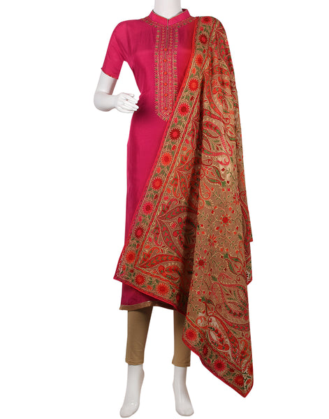 Rani Art Handloom Dupion Suit Set
