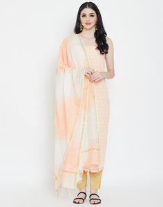 Light Peach Cotton Suit Set