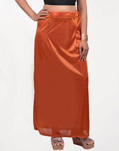 Rust Streachable Peticoat