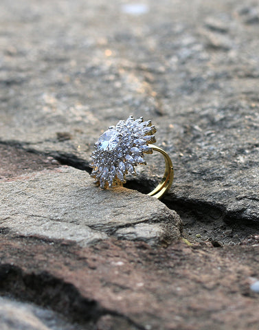 Gold-Plated Handcrafted Ring