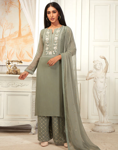 Georgette kurta set