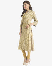 Leheria Printed Cotton Kurti  By Meena Bazaar