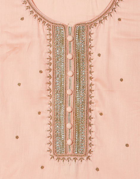 Light Pink Cotton Suit Set