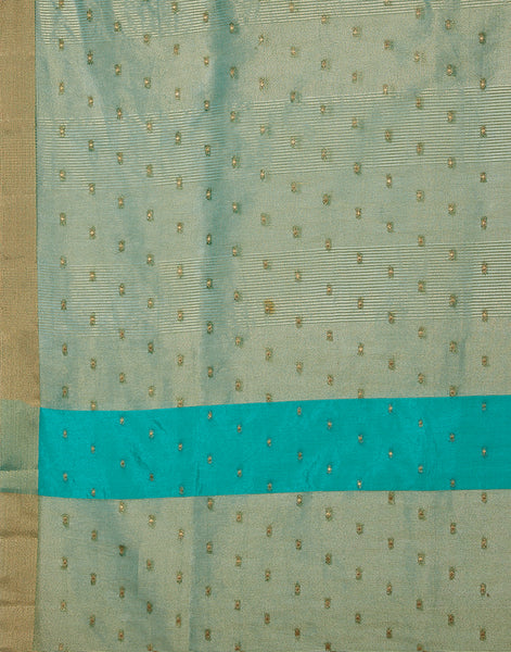 Rama Green Art Handloom Saree
