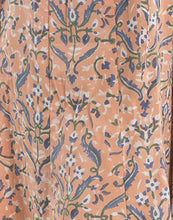 Cotton Kurta With Floral Printed Palazzo By Meena Bazaar