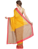 Geometrical Printed Tussar Saree By Meena Bazaar