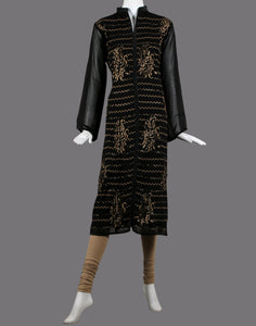 Georgette kurti with stone detailing
