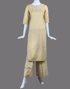 cotton printed kurti with palazzo