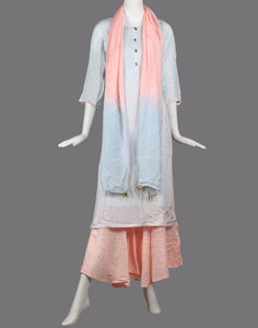 Cotton kurti with Sharara