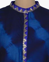 Leheria Printed Cotton Kurti With Sequins Embroidery By Meena Bazaar
