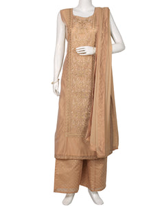Grey Cotton Salwar Kameez