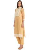 Unstitched Cotton Kota Suit By Meena Bazaar