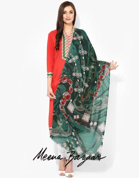 green-printed-stole-15hq1394737