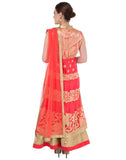 Banrasi Cotton Anarkali Suit with Zari Weave