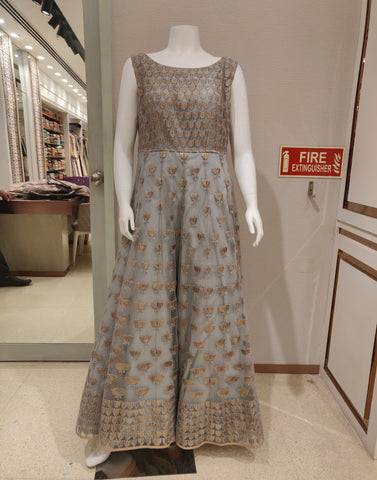 Net Lotus Gown