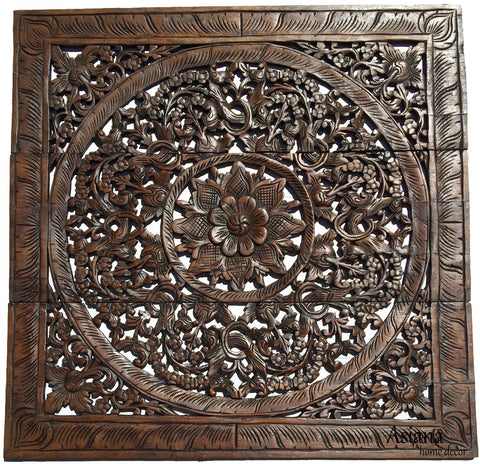 Carved Wall Art unique wood carving wall panels. rustic home decor wall hangings
