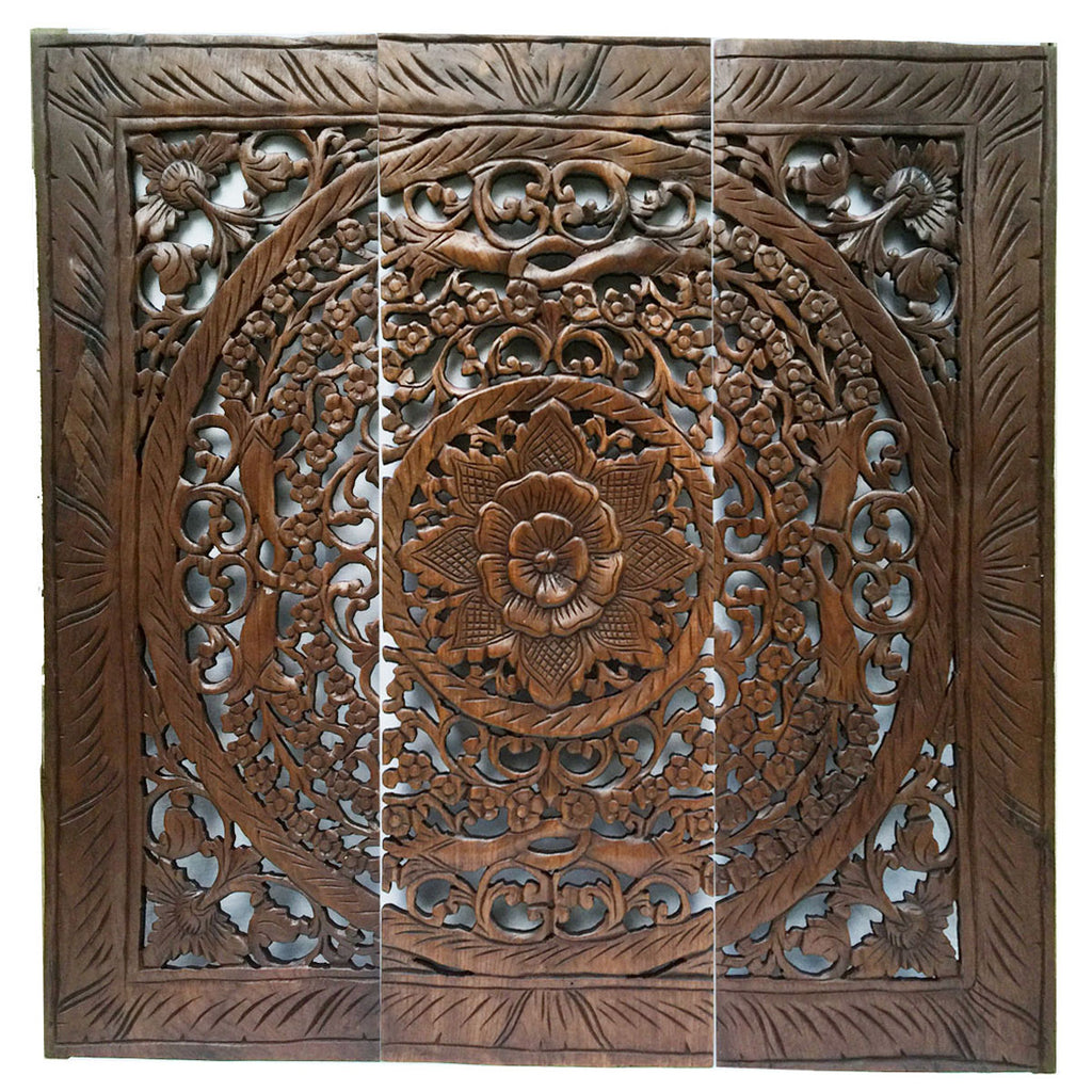 Floral Wood Wall Panels U2013 Asiana Home Decor
