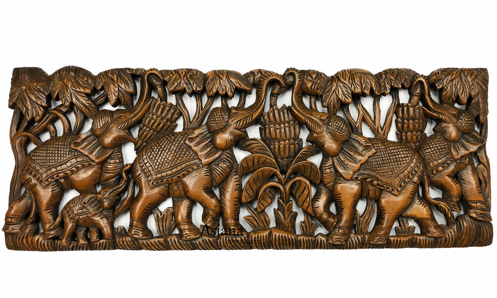animal wood carving home decor