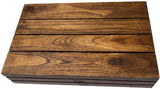 Teak Wood Wall Shelf or Utensile Box Organizer. Versatile Home Accents Decor