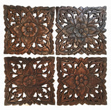 multi panel wall decor wood carved wall hangings